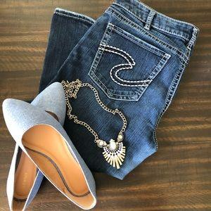 Silver Suki HIGH slim BOOT Super Stretch Jeans W33